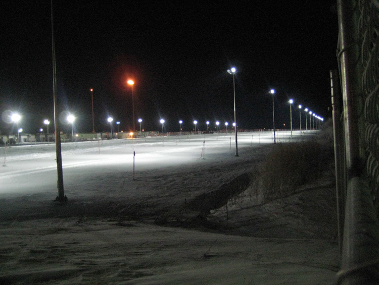 1500 cars parking lot at Husky Lloydminster Upgrader